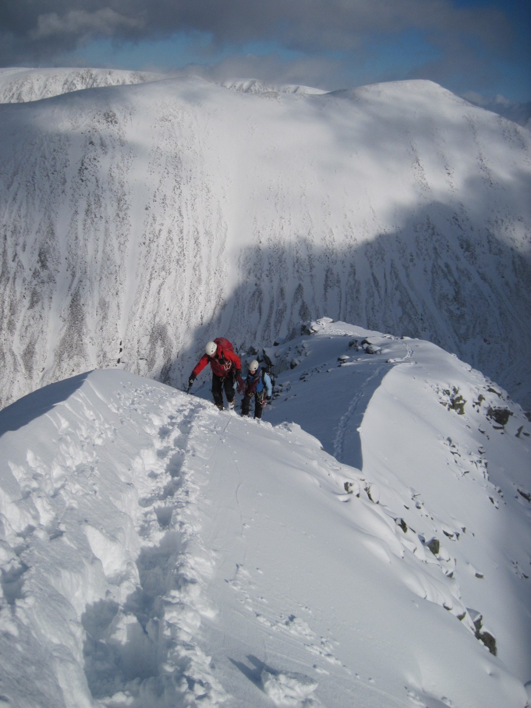Climb Ben Nevis In Winter Adele Pennington