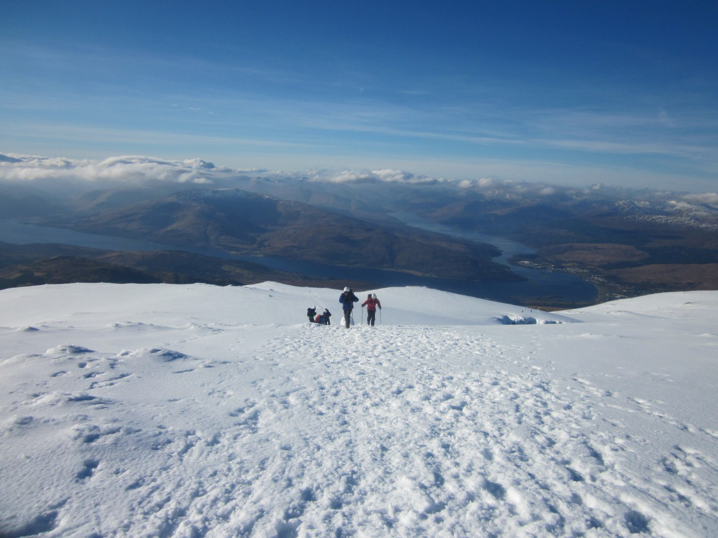 Climb Ben Nevis In Winter Adele Pennington