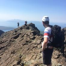 Scrambling Cuillin Ridge
